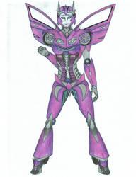 Transformers OC - Caliber by Saffronmoon