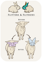 [Veiled Wildwoods] Flitter Species Reference by ImperfectEnthusiast