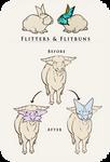 [Veiled Wildwoods] Flitter Species Reference