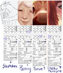 [Personal Guide] SAI Brush Settings by ImperfectEnthusiast