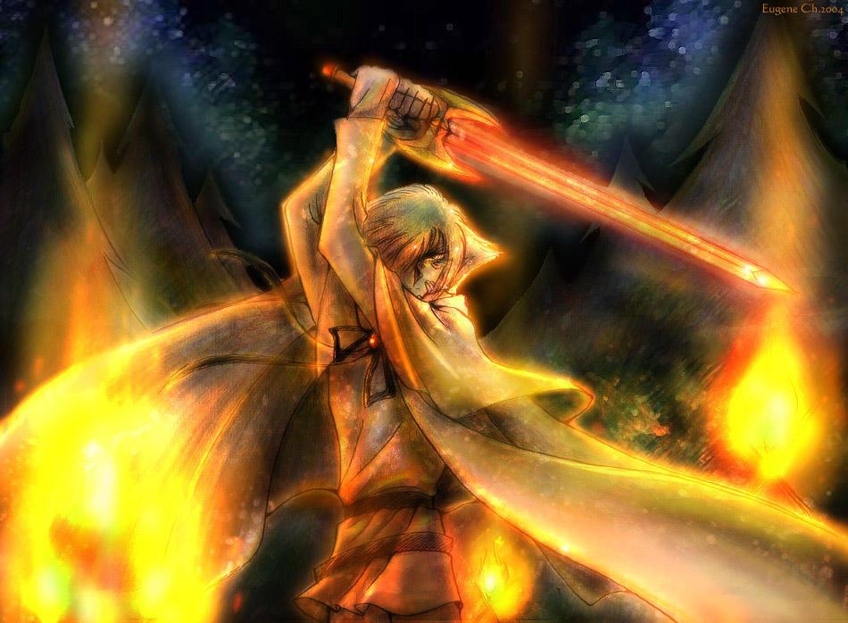 http://fc03.deviantart.net/fs4/i/2004/269/4/5/Zel_practicing_sword_for_Zanne_by_EugeneCh.jpg