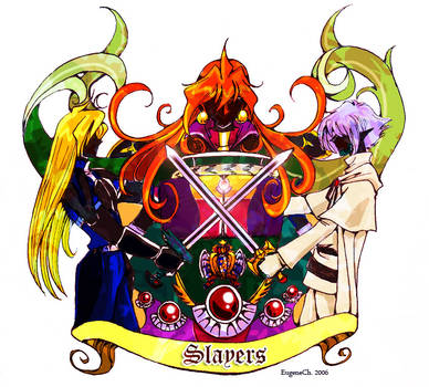 Illust for History of Korean Slayers fanfics 2006