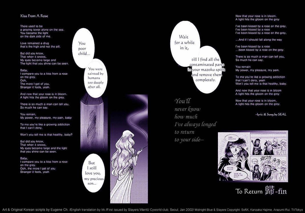 Fanmanga TO RETURN part 3-27 Fin by EugeneCh