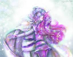 Zel Lina in a winter day