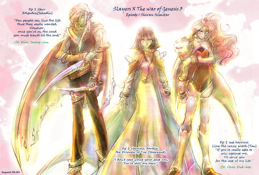 Slayers X TheWarofGenesis3pt1 ep1 crossover