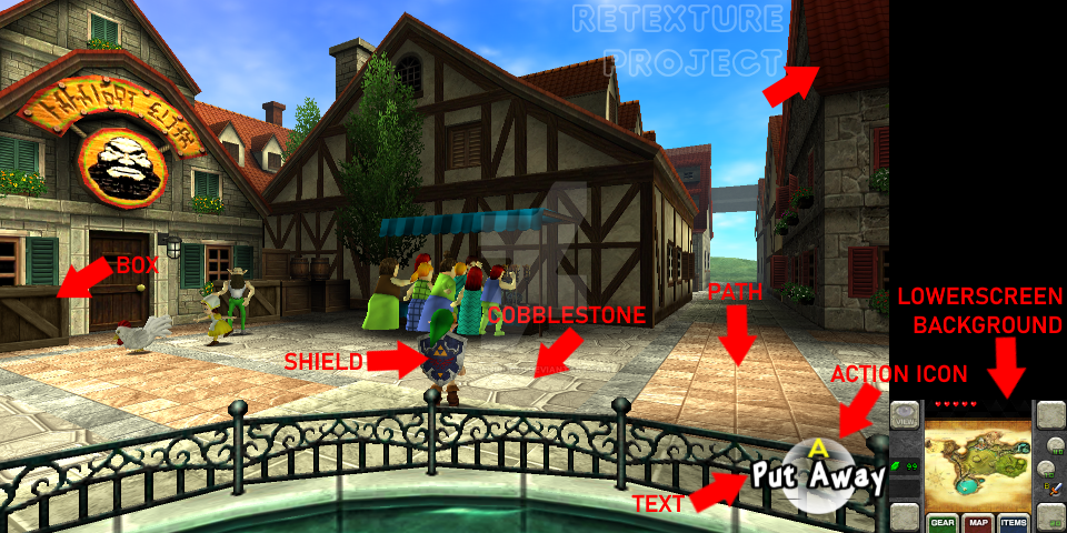 The Legend Of Zelda: Ocarina Of Time 3D Retexture by
