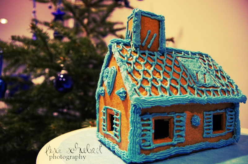 ginger bread house by seasfairytale