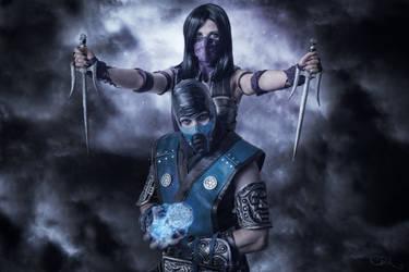 Mortal Kombat X - Mileena vs Sub Zero