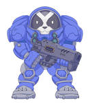 Baby marine by natkougi