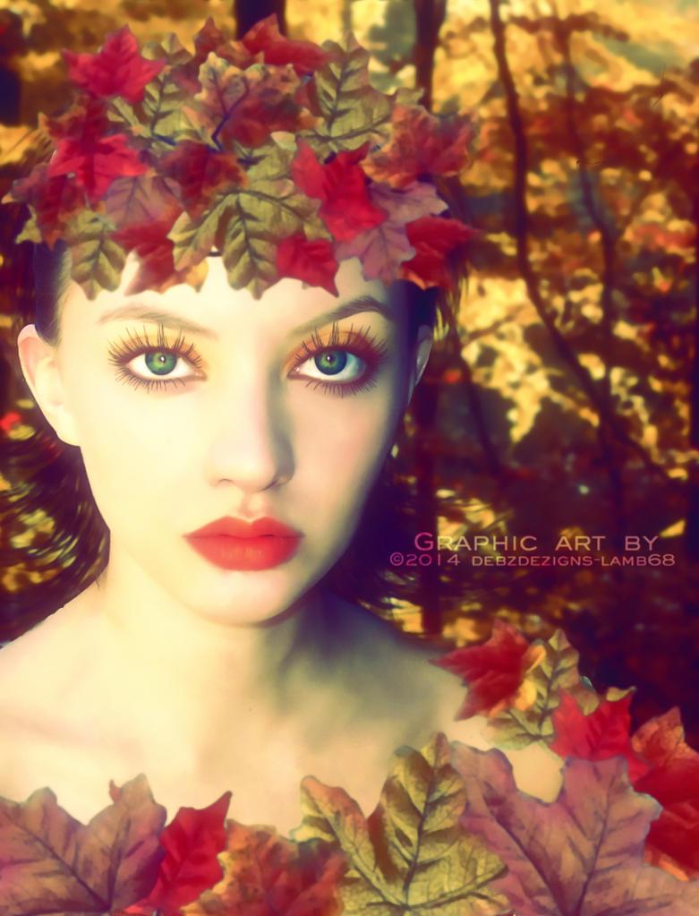 Autumns Lady by debzdezigns-lamb68