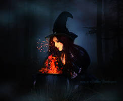 Witches Brew by debzdezigns-lamb68