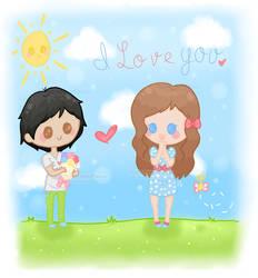 Lovely Couple by PeppermentPanda
