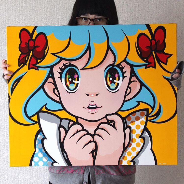 Seven Colors Series - CADMIUM YELLO MEDIUM HUE by madoka07