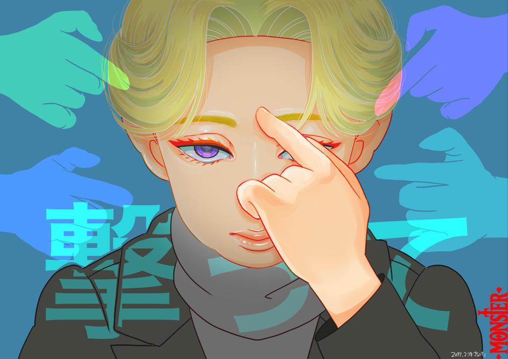 Fan Art - MONSTER. JohanLiebert by madoka07