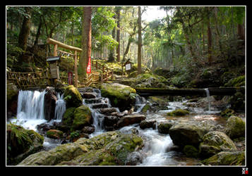 Wakasa Waterfall II by tensai-riot