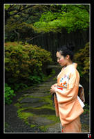 In the Garden by tensai-riot