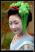 kamishichiken Maiko IV: smile by tensai-riot