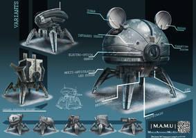 Modular Autonomous Mech Unit |M.A.M.U| by FrostKnight-IcE