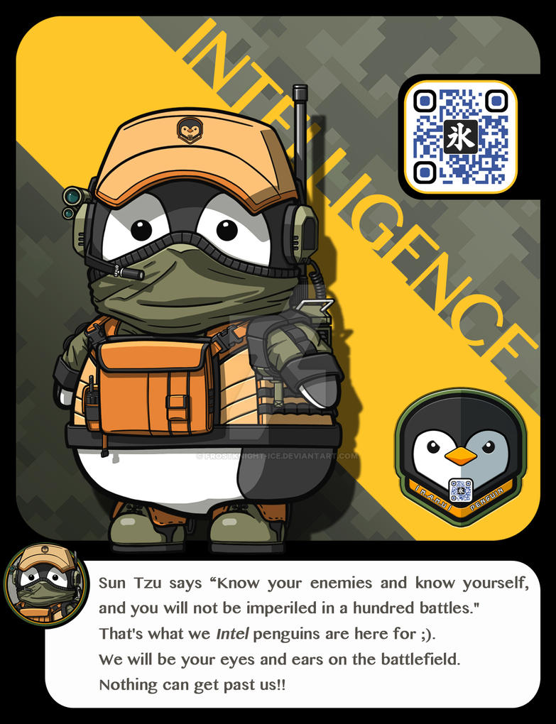 |M.A.M.U| - Penguin Pilot, Intelligence Class by FrostKnight-IcE