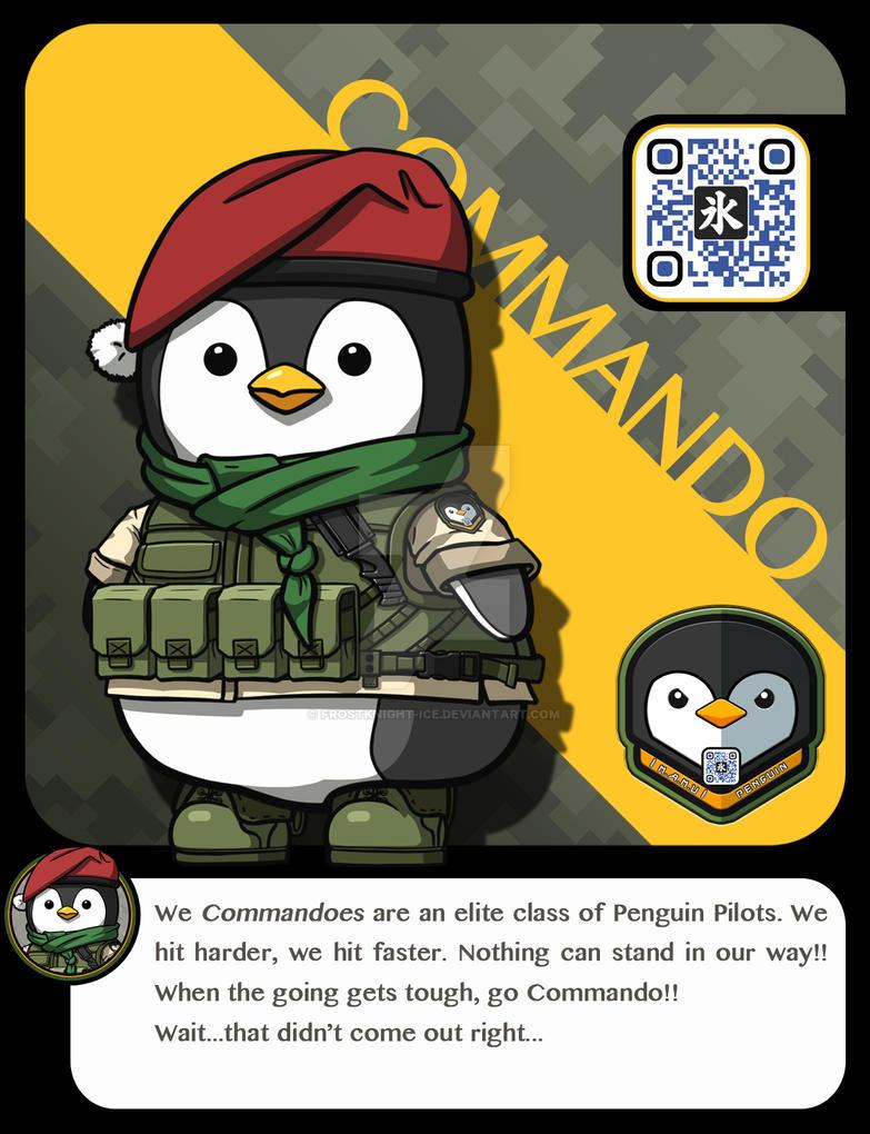  M.A.M.U  - Penguin Pilot, Commando Class by FrostKnight-IcE
