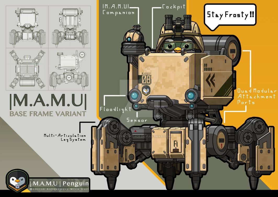  MAMU  - Base Frame Variant by FrostKnight-IcE