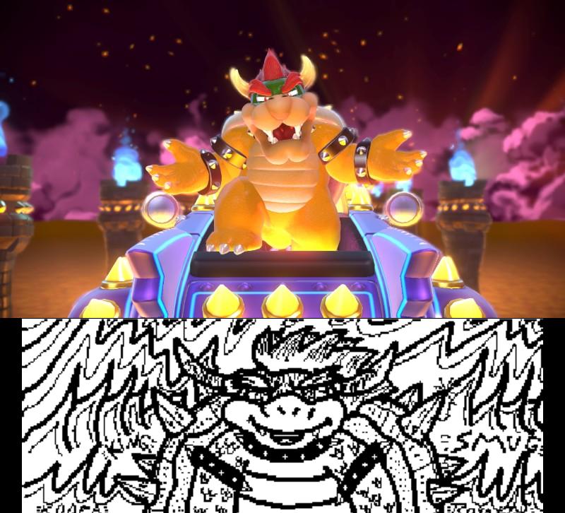Super Mario 3D World: King of Smug by Bowser81889 on DeviantArt