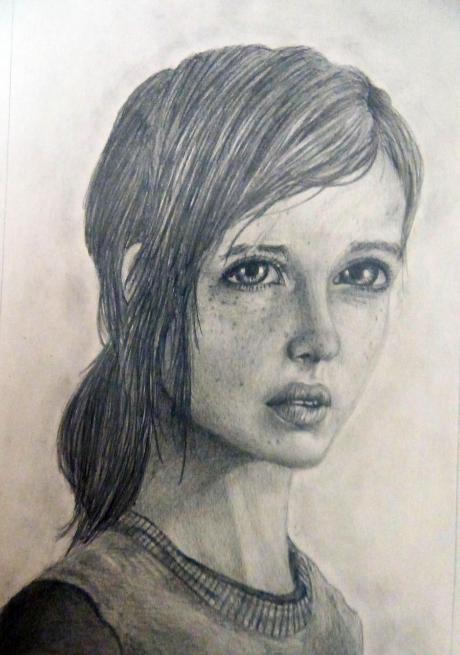 how to draw ellie from the last of us
