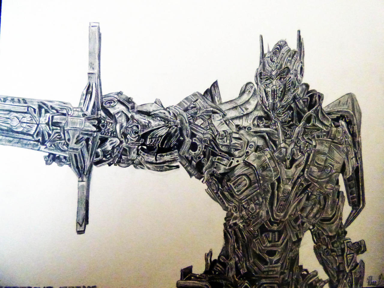 Optimus Prime - Age of Extinction by Eternal--Art