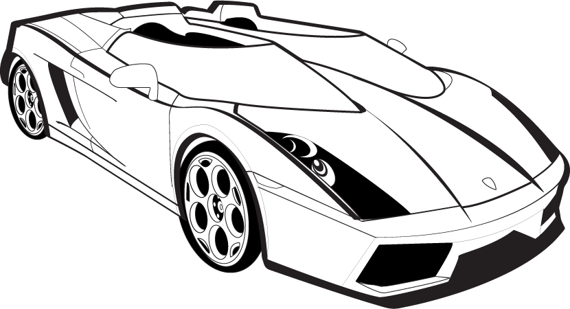 lamborghini-outline