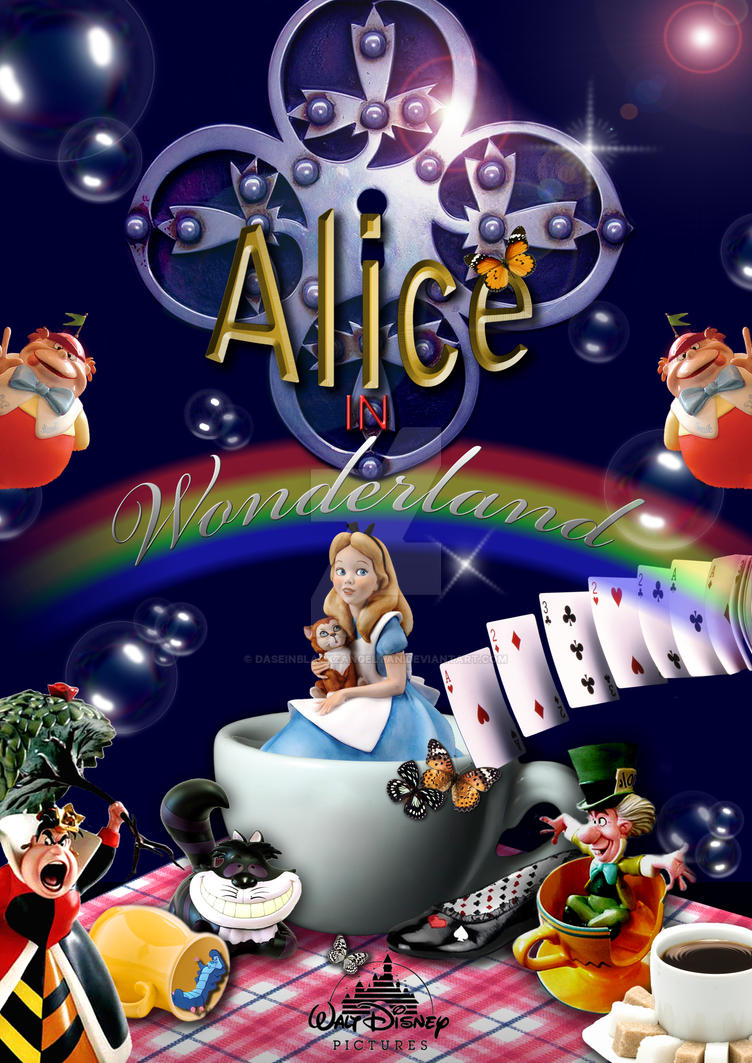 Alice In Wonderland by DaseinBlackzAngelTan