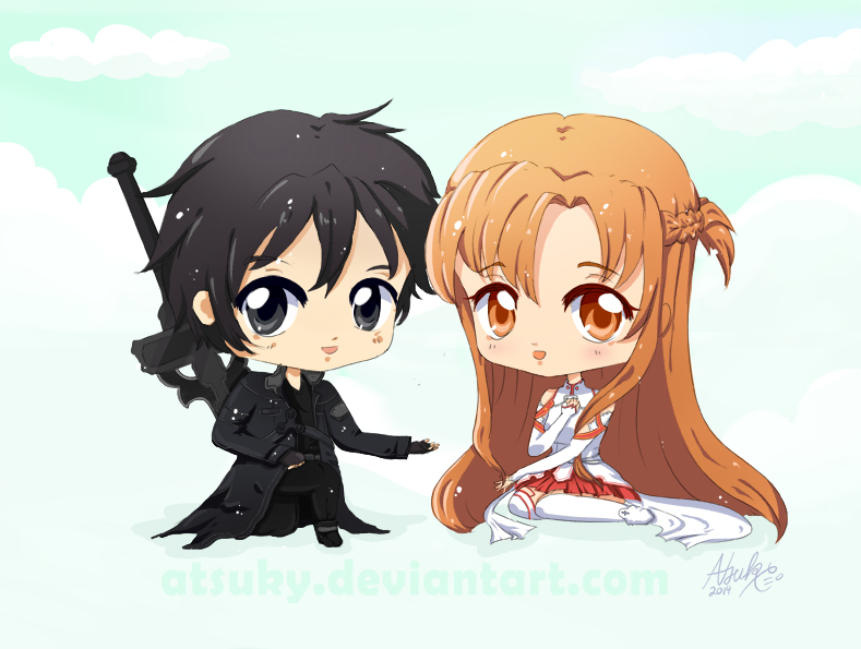 Asuna and Kirito love by Atsuky