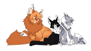 The Three by Angelpaw33