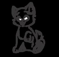 F2U Kitten Lineart by Angelpaw33