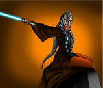 Shaak Ti is not happy...