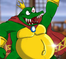 KING K. ROOL COMES ABOARD by CinSensura