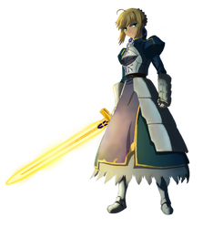 Saber (Fate/Zero , Fate/Stay Night) PNG