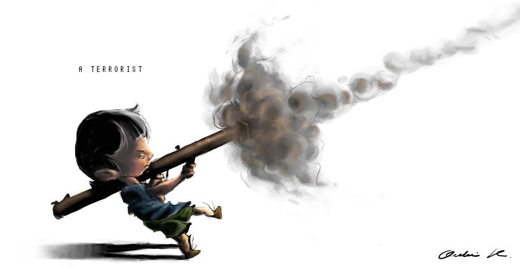 A Terrorist by Poschki