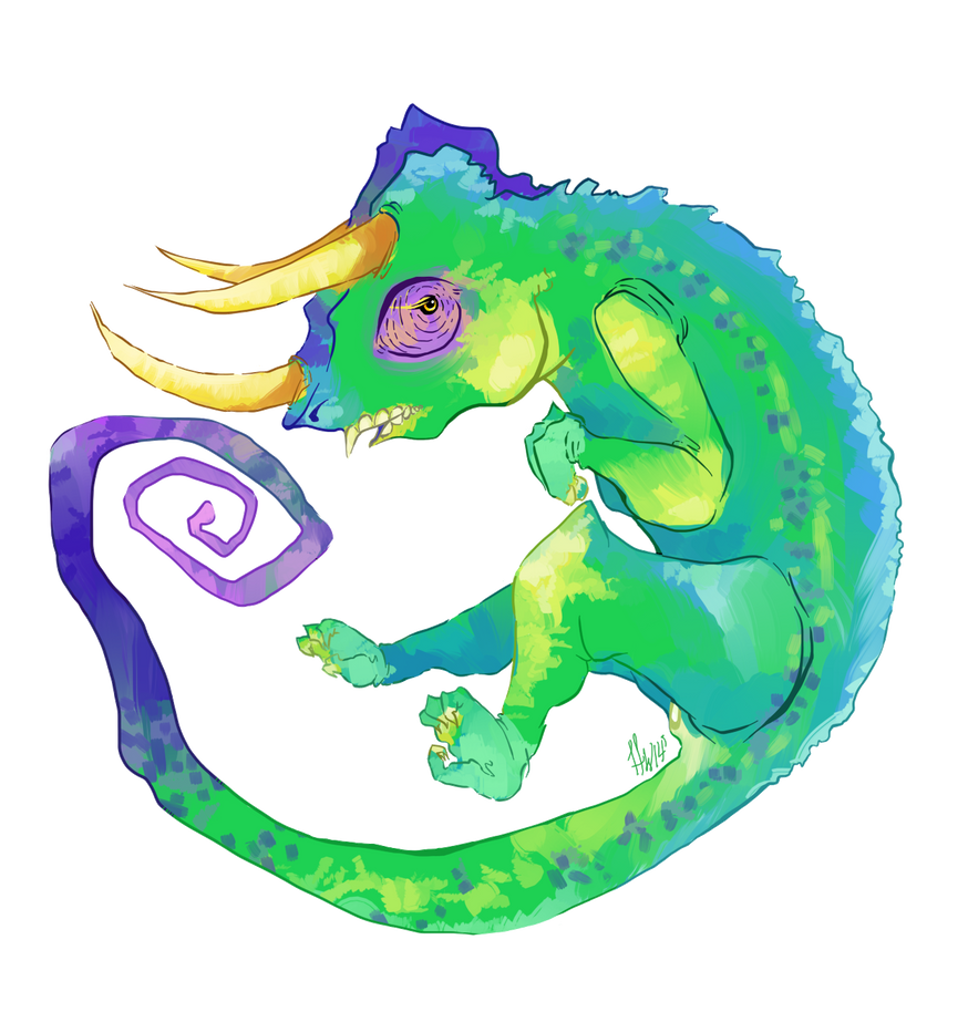 Jackson's Chameleon by ThePancakey