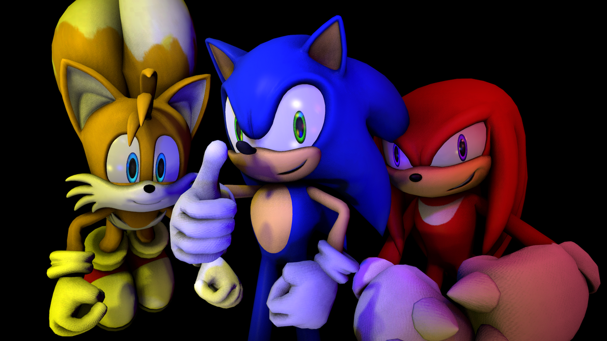 Sonic and Friends by LittleRetroBits