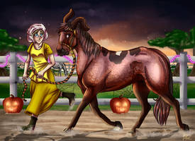  YKR Courage the Cowardly....colt? Spooktacular by Janntly