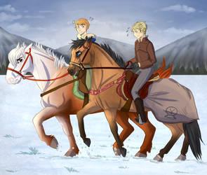 YKR  Dashin' Through The Snow   by Janntly