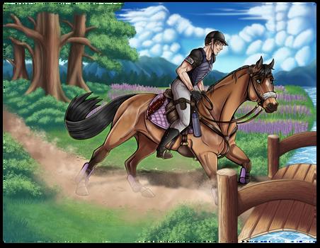 Down the Lavender Trails