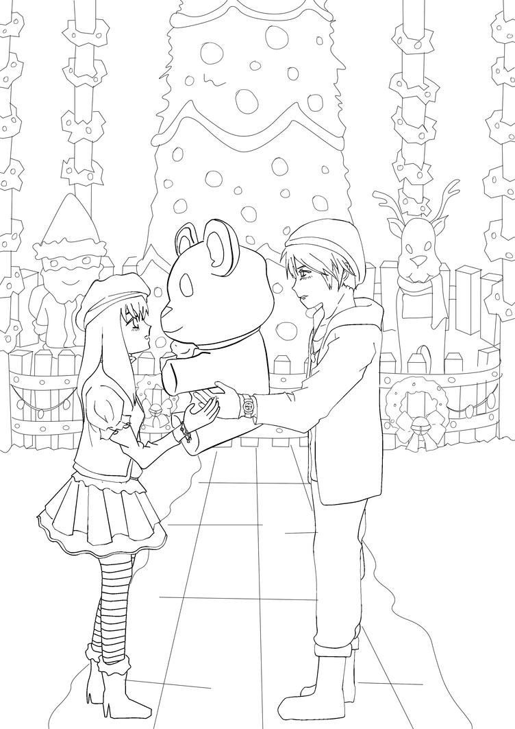 Lineart-Christmas by SooyoungChua