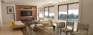living room by vimaltandan