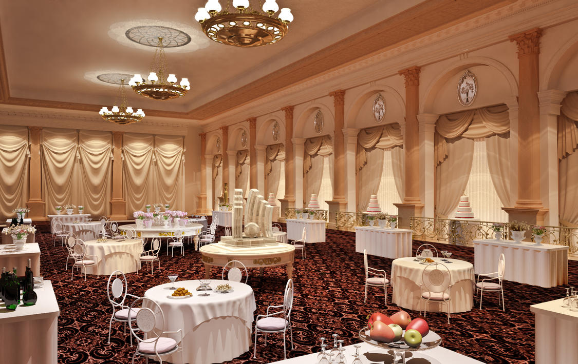 Marriage hall by vimaltandan on deviantart for Marriage hall interior designs