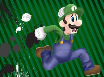 Luigi Smash by Tavion-Ezeilo