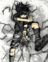 Dark Sasuke 2 by Tavion-Ezeilo