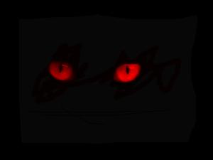 Red eyes by Lynxx-XVI