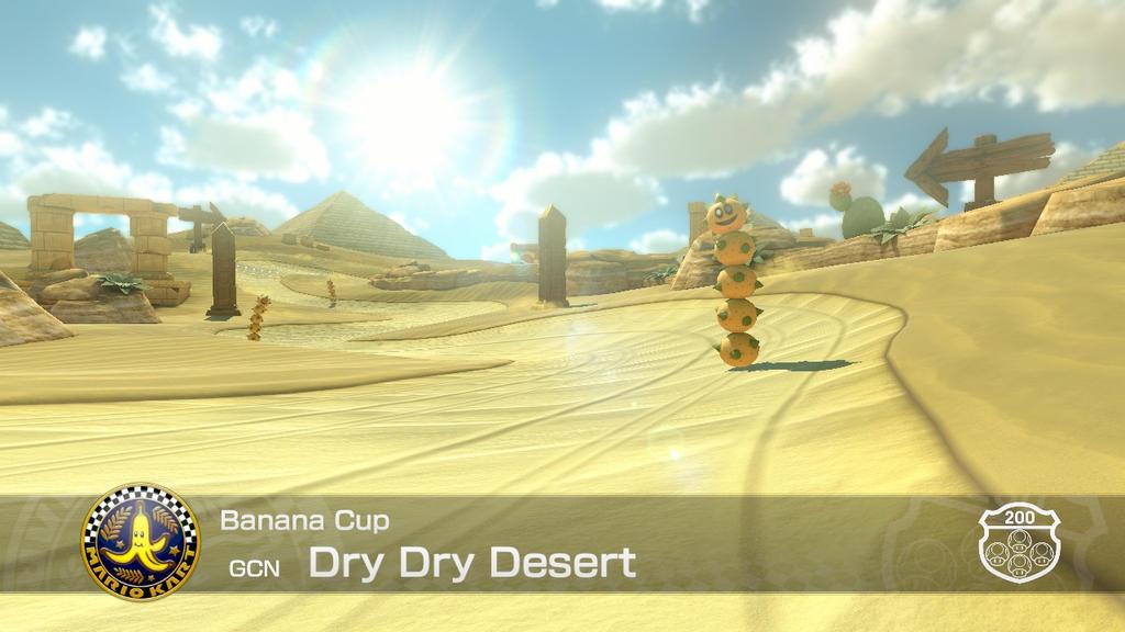 mario kart desert