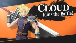 Cloud in Smash Bros.